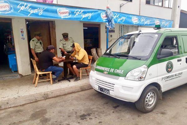 Carabineros modalidad MICC incentiva la prevención en localidad rural de Carrizalillo