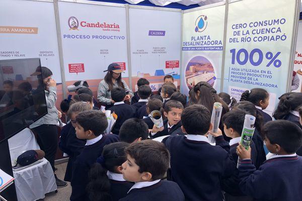 Minera Candelaria presente en conmemoración del Día Mundial del Agua