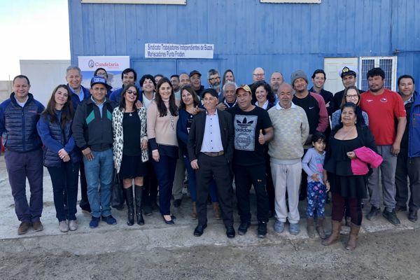 Pescadores, buzos mariscadores y recolectores de orilla de Caldera se capacitan con apoyo de minera Candelaria y Fundación Lundin