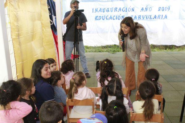 Caldera dio inicio al año educacional parvularia