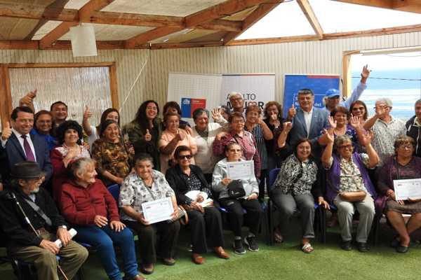 """Más de un veintenar de adultos mayores participaron del cierre de la 11° versión del programa """"Vínculos"""" en la localidad de Barquitos"""