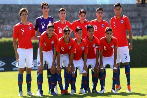 Chile inicia su camino al Mundial Sub 17 que se realizara en Brasil