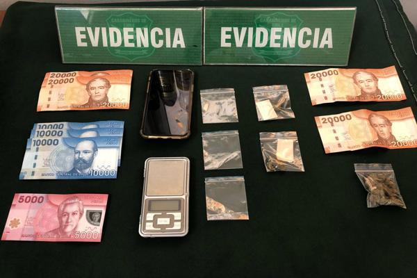 OS-7 no da tregua al microtrafico de drogas en Copiapo