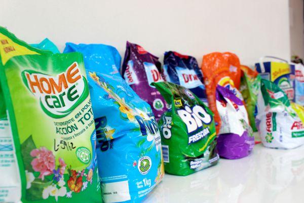 Sernac detecta deficiencia en la rotulacion de detergentes