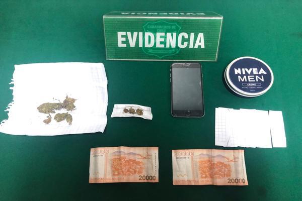 Servicios focalizados de carabineros del OS-7 Atacama dejaron 5 personas detenidas