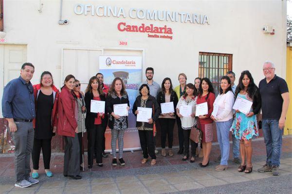 Minera Candelaria capacitó a vecinos de Caldera en atención y cuidado de adultos mayores