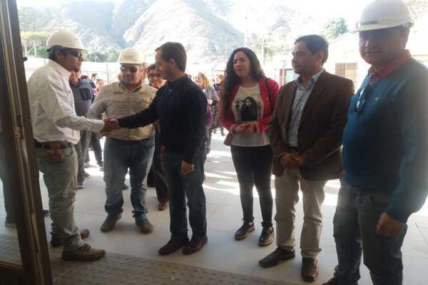 Adultos Mayores junto a Diputado Noman visitaron el nuevo Establecimiento de Larga Estadía para personas mayores.