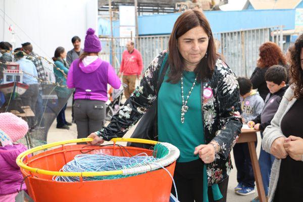 Pescadores exhibieron el museo de la pesca artesanal