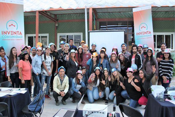 Un centenar de emprendedores se capacitaron en jornadas de                      innovación social del programa Inventa Comunidad de minera Candelaria