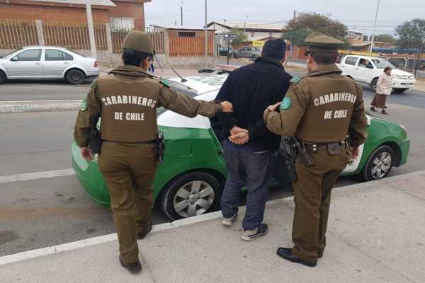 Carabineros detuvo dos prolíficos delincuentes en Caldera