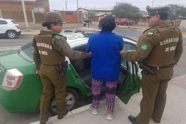 Un hombre y una mujer fueron detenidos por robar generador de energía en Caldera