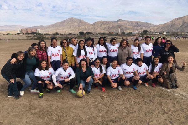 """Diputada Sofía Cid: """"las mujeres que juegan fútbol merecen las mismas condiciones con las que practican los hombres""""."""