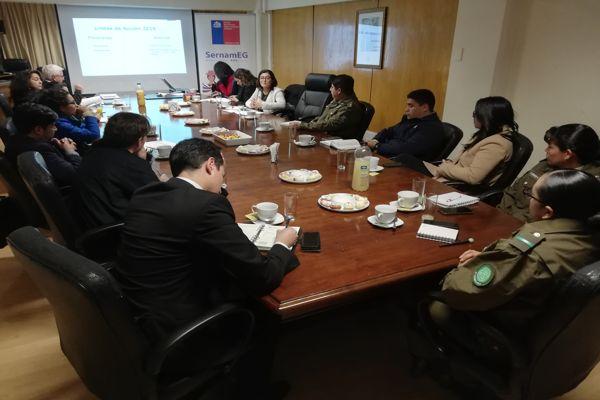 """Diversas instituciones públicas participaron en reunión del """"Circuito de Femicidio"""" en Atacama"""