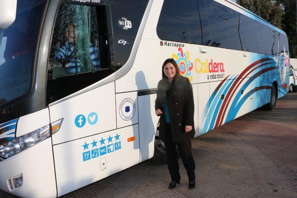 Municipio de Caldera recibió un bus de trasporte urbano