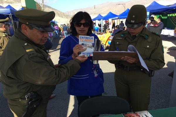 En Chañaral: Carabineros participo del programa en terreno