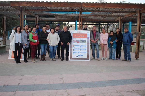 Vecinos de Nantoco cumplirán el sueño de remodelar la plaza del sector