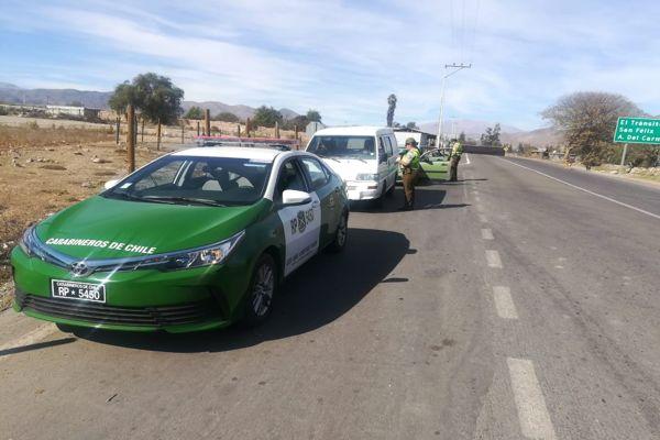 Carabineros incentiva en conductores el respeto por limites de velocidad