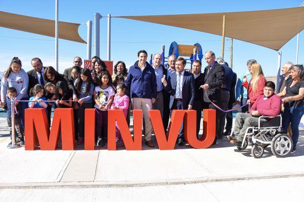 Gobierno inaugura 180 viviendas y espacios públicos en la Provincia del Huasco