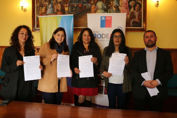 Municipalidad de Caldera y Prodemu firman importante convenio de colaboración