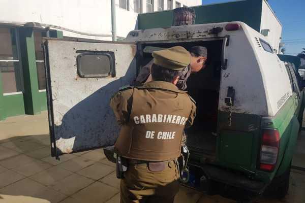Carabineros puso a disposición de los tribunales a delincuente prolífico de Caldera