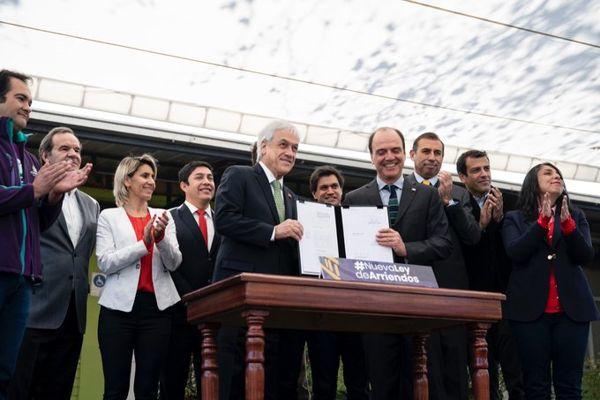 Con firma de proyecto de ley que modifica ley de arrendamiento Gobierno busca agilizar procesos judiciales