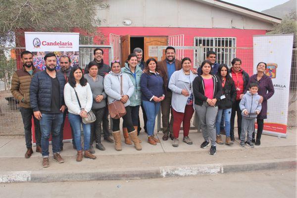 Inician remodelación de sedes vecinales en Tierra Amarilla
