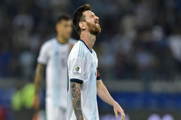 Conmebol suspende a Messi con un partido y le aplica multa económica por su expulsión