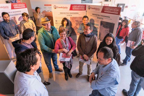 Minera Candelaria realizó participación ciudadana de su proyecto de continuidad operacional
