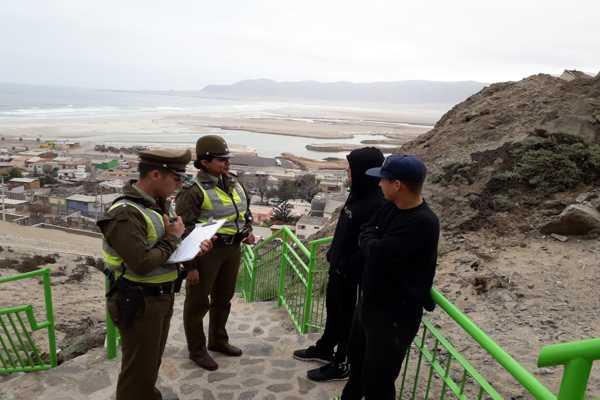 En Atacama disminuye delitos de connotación social