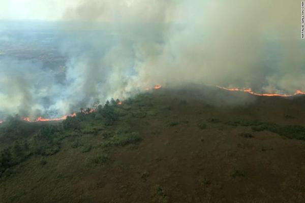 Incendios siguen propagándose en la Amazona