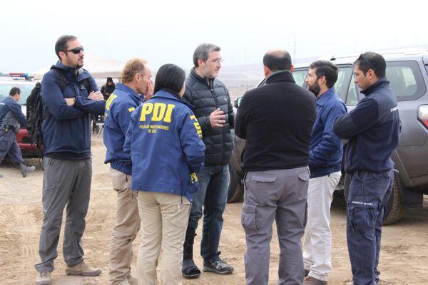Fiscalía coordinó nueva jornada de búsqueda de Catalina Alvarez