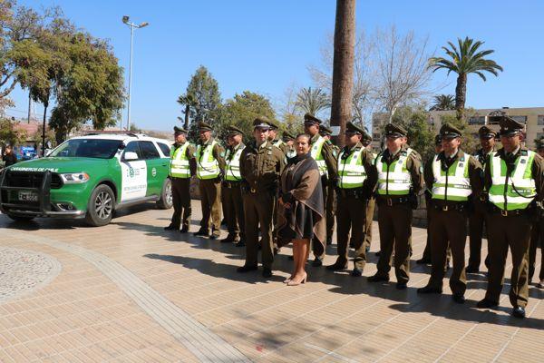 Un llamado a fortalecer el fono Denuncia Seguro realiza Gobernadora de la Provincia del Huasco Nelly Galeb