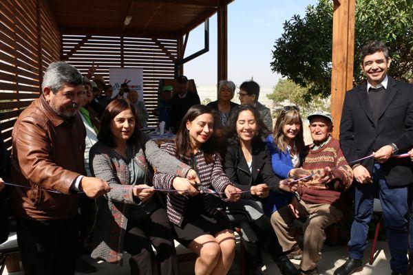En Caldera se inaugura proyectos para adultos mayores de casas tuteladas