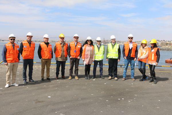 Empresarios del noroeste Argentino visitaron puerto de Caldera