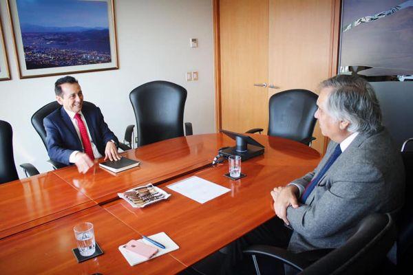 Senador Prohens solicita apoyo de santo domingo para reactivar empleo regional