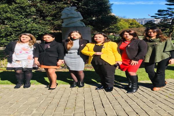 Parlamentarias realizan acto en memoria de mujeres víctimas de violencia doméstica y piden implementar medidas para prevenir más muertes