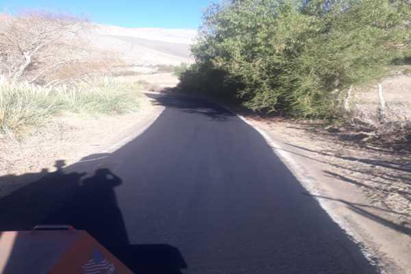 Mejoramiento en los accesos a la localidad de El Corral en la comuna de Alto del Carmen