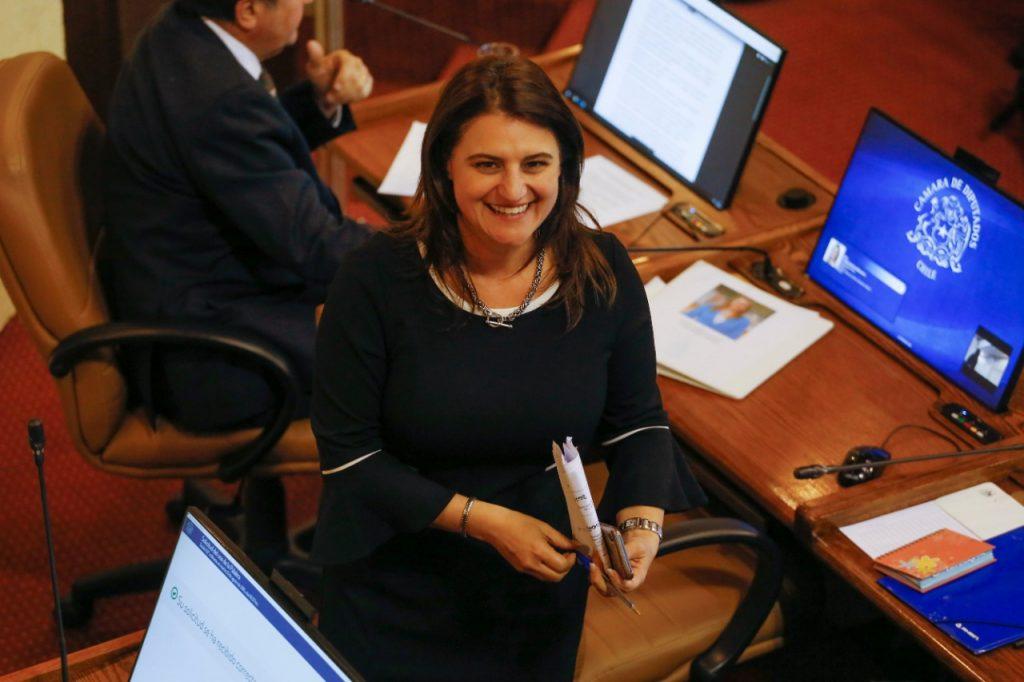 """Diputada Sofía Cid, destacó promulgación de ley retiro de cables aéreos en desuso: """"Menos contaminación visual y aporta al reciclaje"""""""
