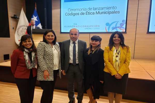 Municipio de Caldera recibe distinción nacional por parte de la Contraloria Regional de la República