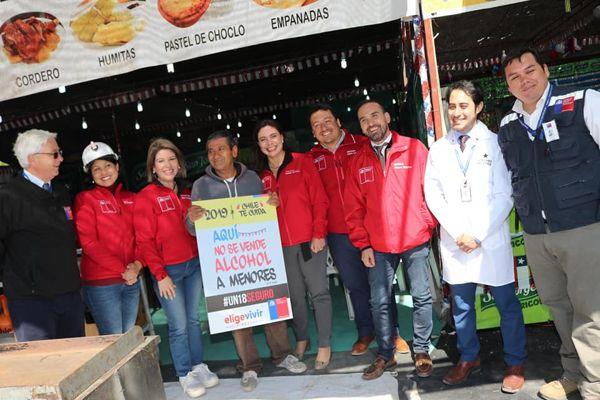 Autoridades fiscalizaron instalación de fondas y ramadas en Copiapó