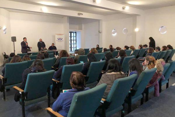 Funcionarios municipales de Huasco recibieron capacitación en delitos penales de parte de la Fiscalía
