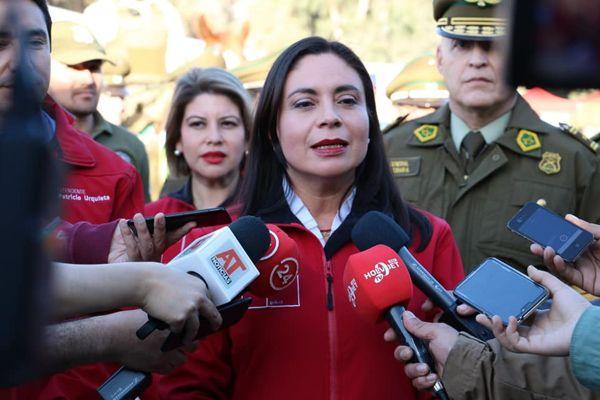 """Gobernadora Paulina Bassaure, """"El Presupuesto 2020 del Gobierno del Presidente Sebastián Piñera es fundamentalmente reactivador"""""""