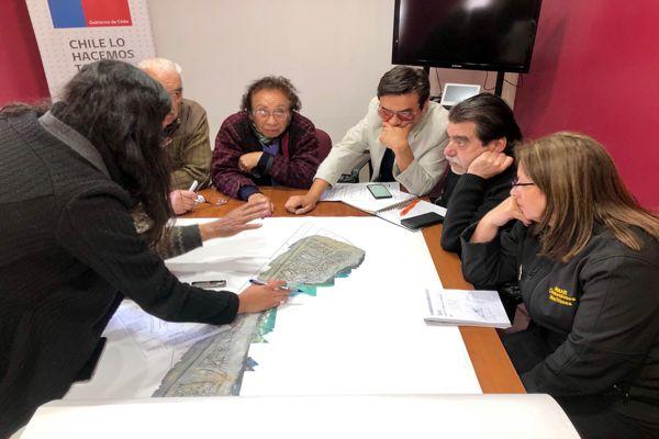 Seremi Carla Guaita se reunió con dirigentes de macrolotes de flamenco para dar inicio al proceso de venta directa