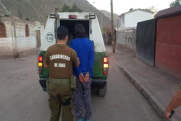 Patrulla de intervención de carabineros detuvo tres delincuentes prófugos de la justicia