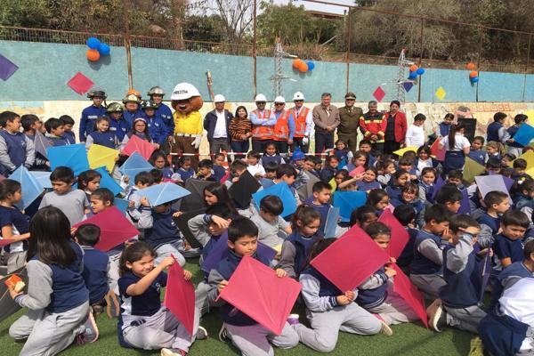 Campaña del Volantín de CGE refuerza seguridad en Fiestas Patrias