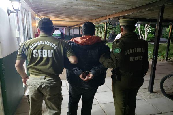 Carabineros capturo a prófugo de la justicia por maltrato animal