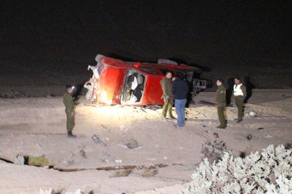 Fiscalía formalizó por cinco delitos a ocupantes de camioneta protagonista de fatal accidente en Copiapó