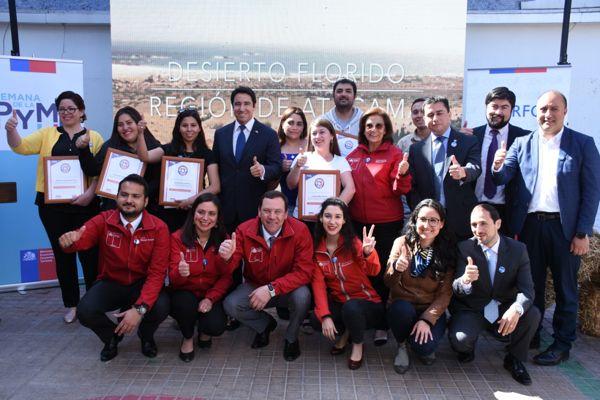 """Pymes Motor de Chile: Comienza Fiesta de emprendedores con la Octava versión """"Semana de la Pyme"""" en Atacama."""