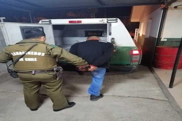 Carabineros detuvo a dos adolescentes por delito de robo con violencia