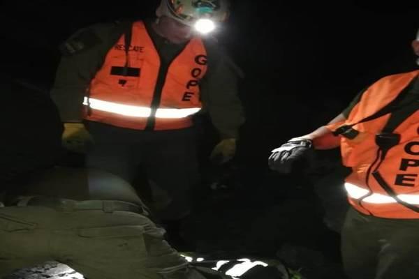 GOPE Atacama nuevamente participa en rescate minero